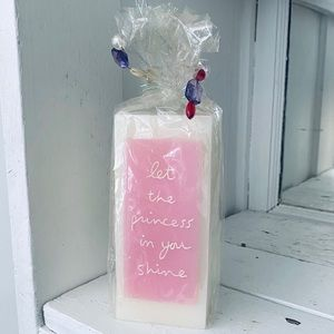 NEW Let the Princess in You Shine Candle